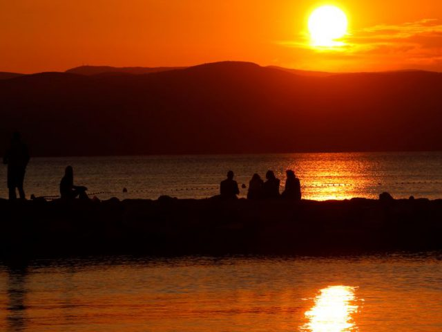 The Sunset of Brac Channel