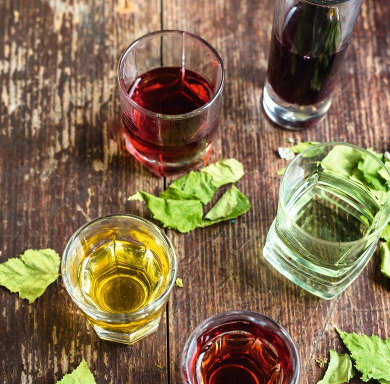 Liqueurs of Gorski Kotar