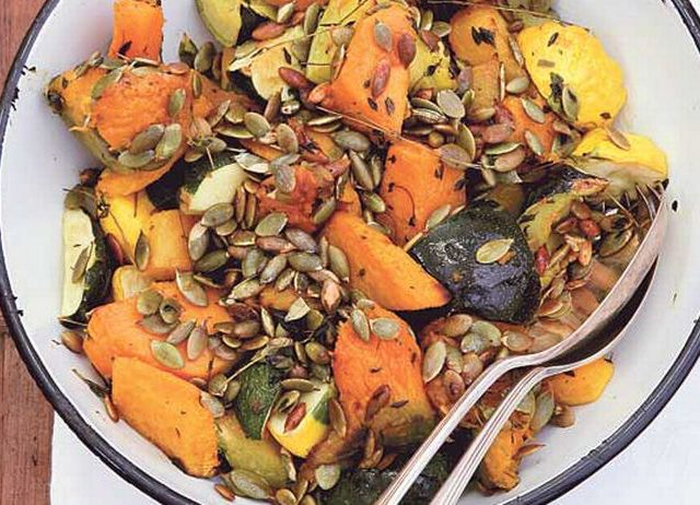 Warm Pumpkin Salad