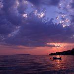 Gradac, 050712.Zalazak sunca u Gradcu kod Makarske.Na slici: Zalazak sunca u Gradcu.Foto: Ivo Ravlic / CROPIX