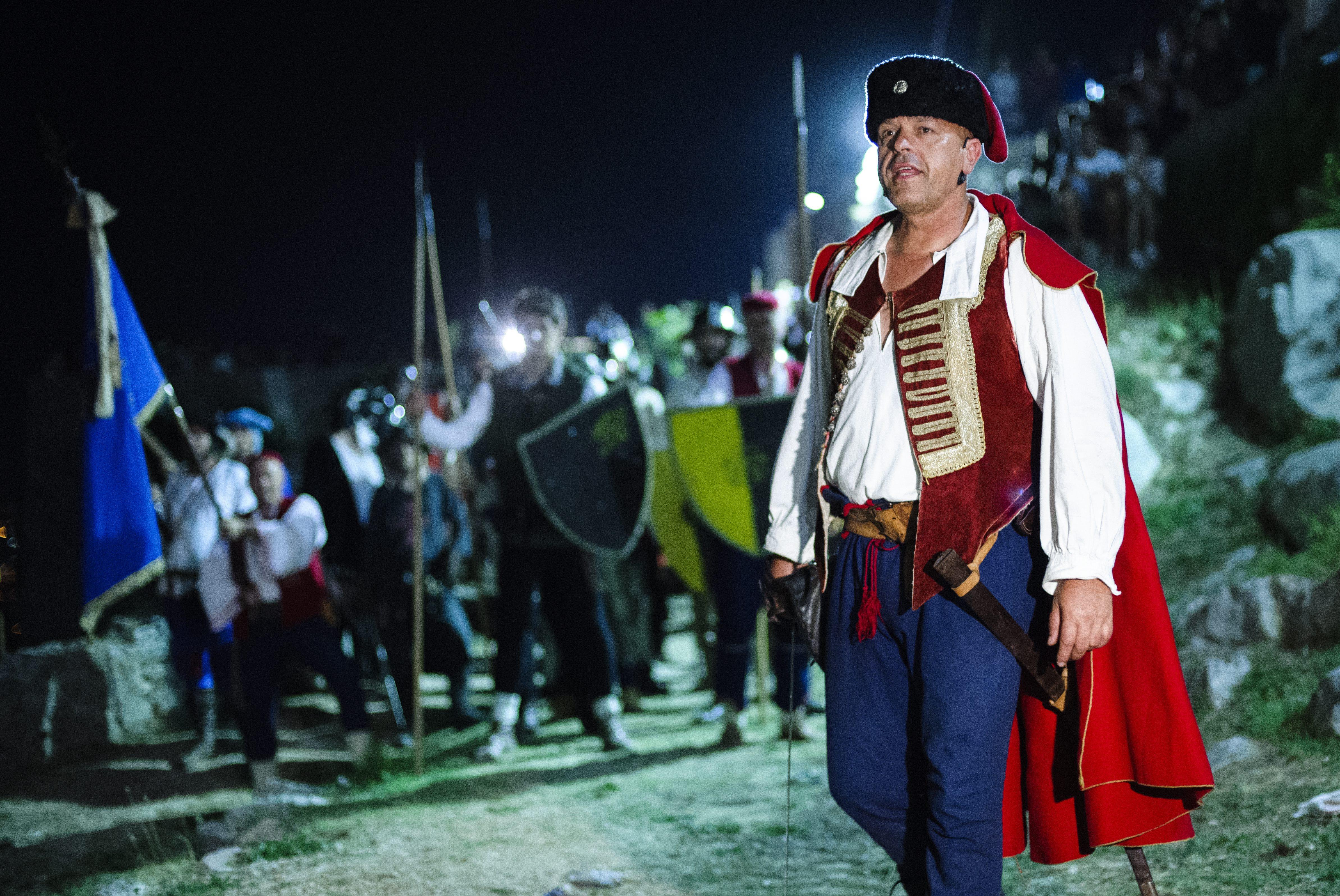 Battle of Klis Live Action, warriors, costumes